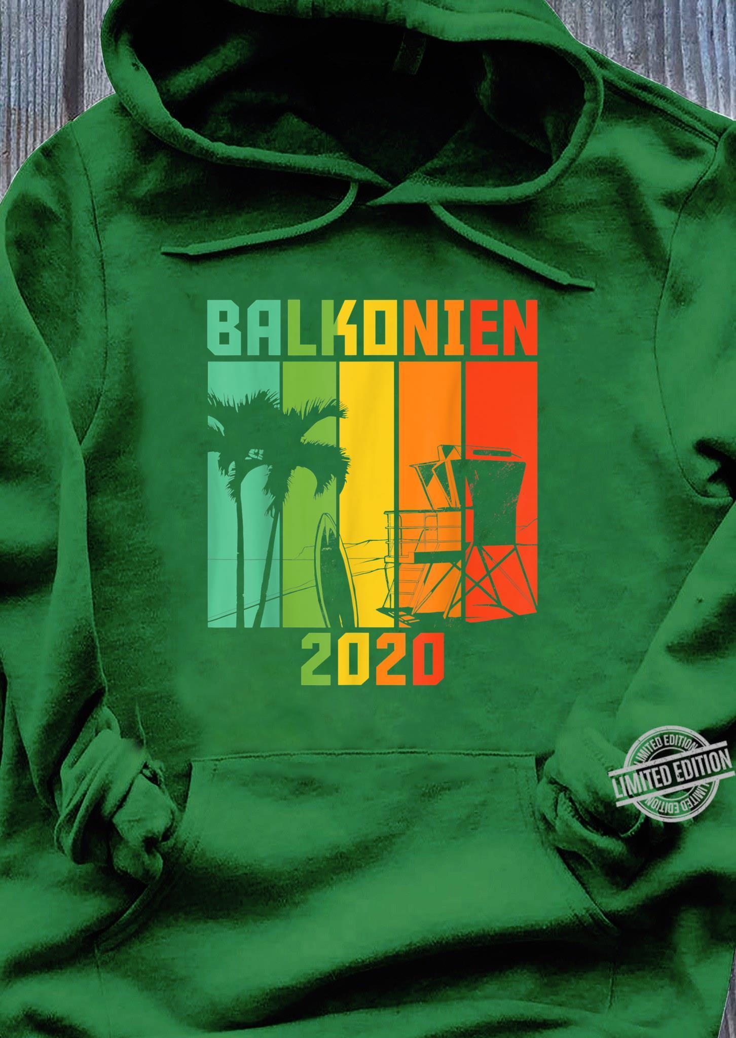 Balkonien 2020 Shirt hoodie