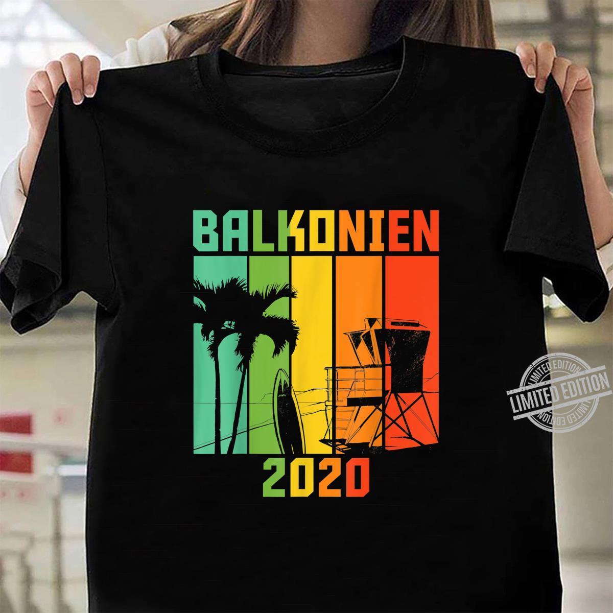 Balkonien 2020 Shirt ladies tee
