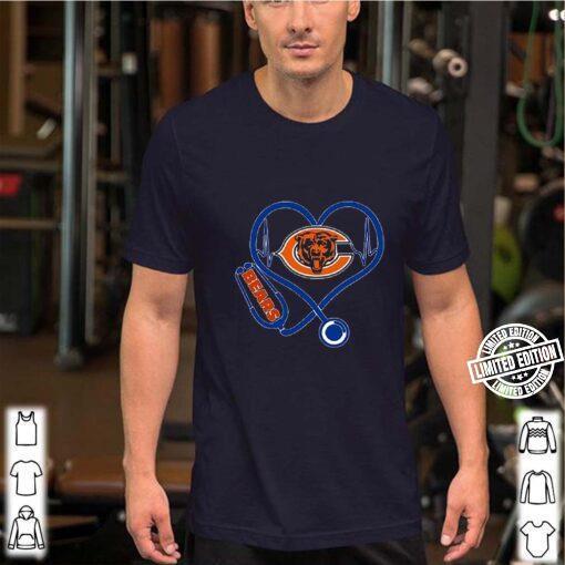 Chicago Bears Logo Stethoscope Version shirt