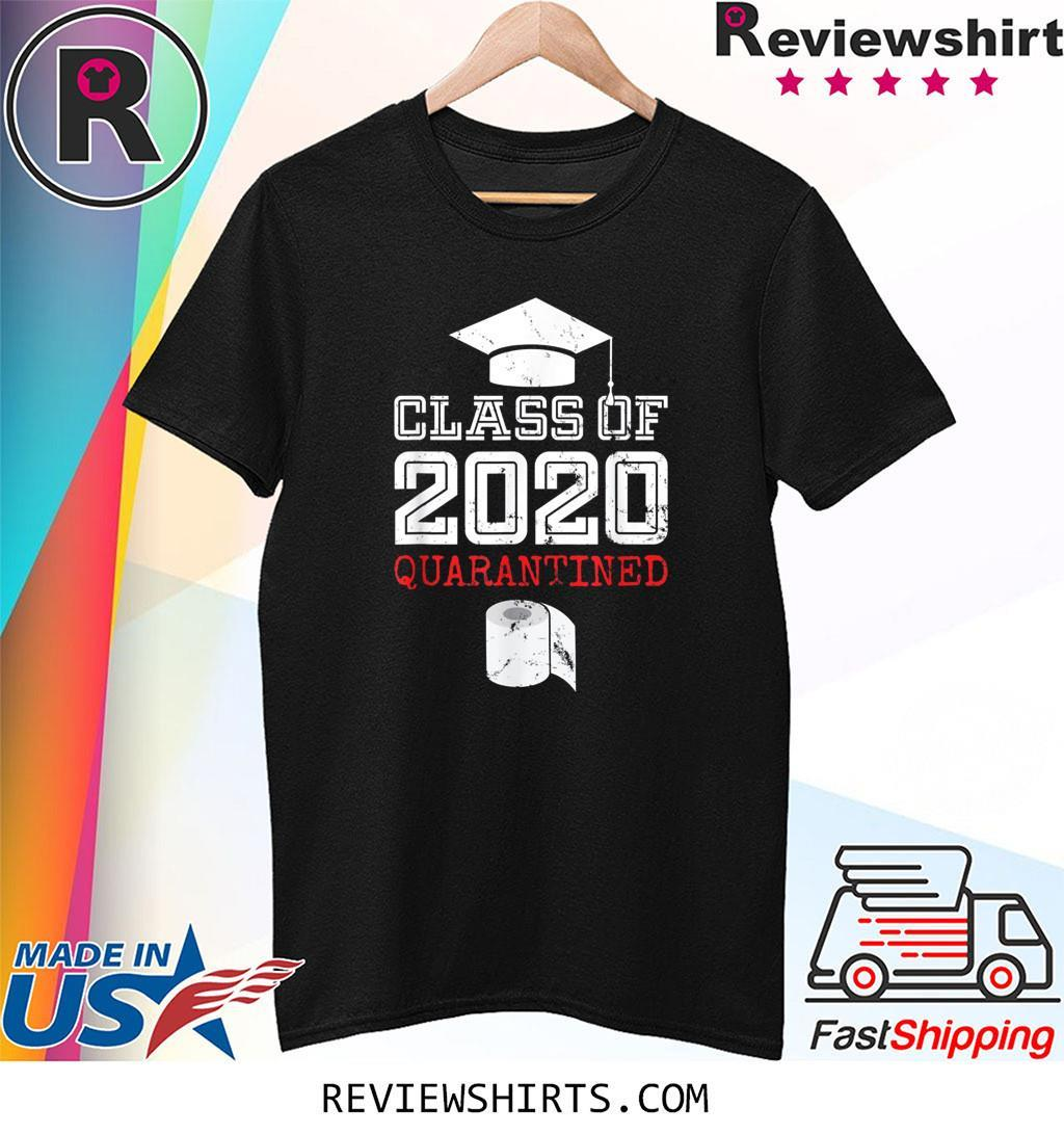 Class of 2020 Senior Quarantine Distance Toilet Paper Shirt