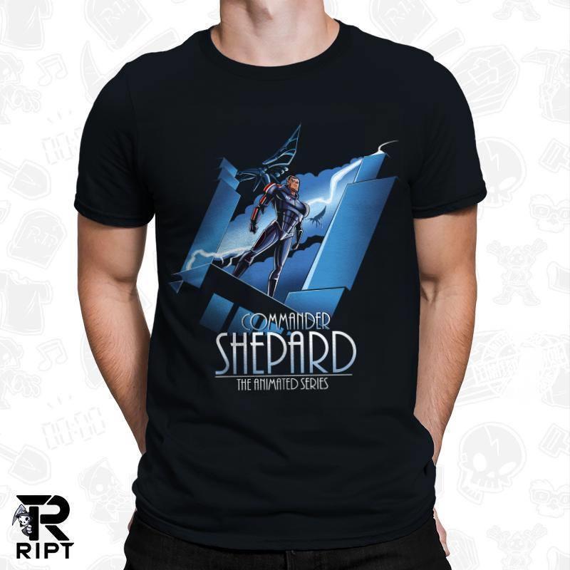 Commander shepard shirt