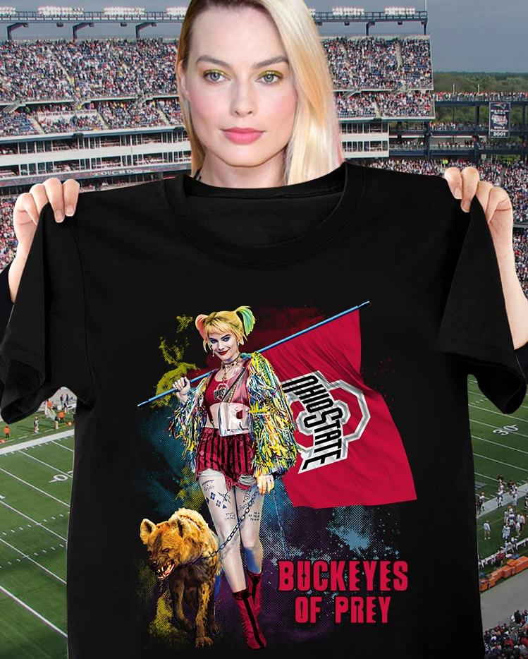 Harley Quinn Buckeyes Of Prey Shirt
