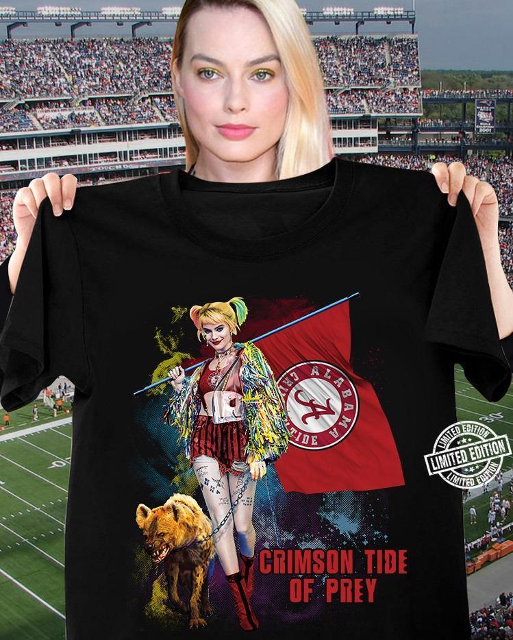Harley Quinn Crimsona Tide Of Prey Shirt