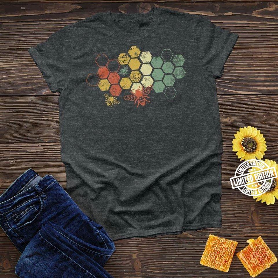 Honeycomb Rainbow Bee shirt