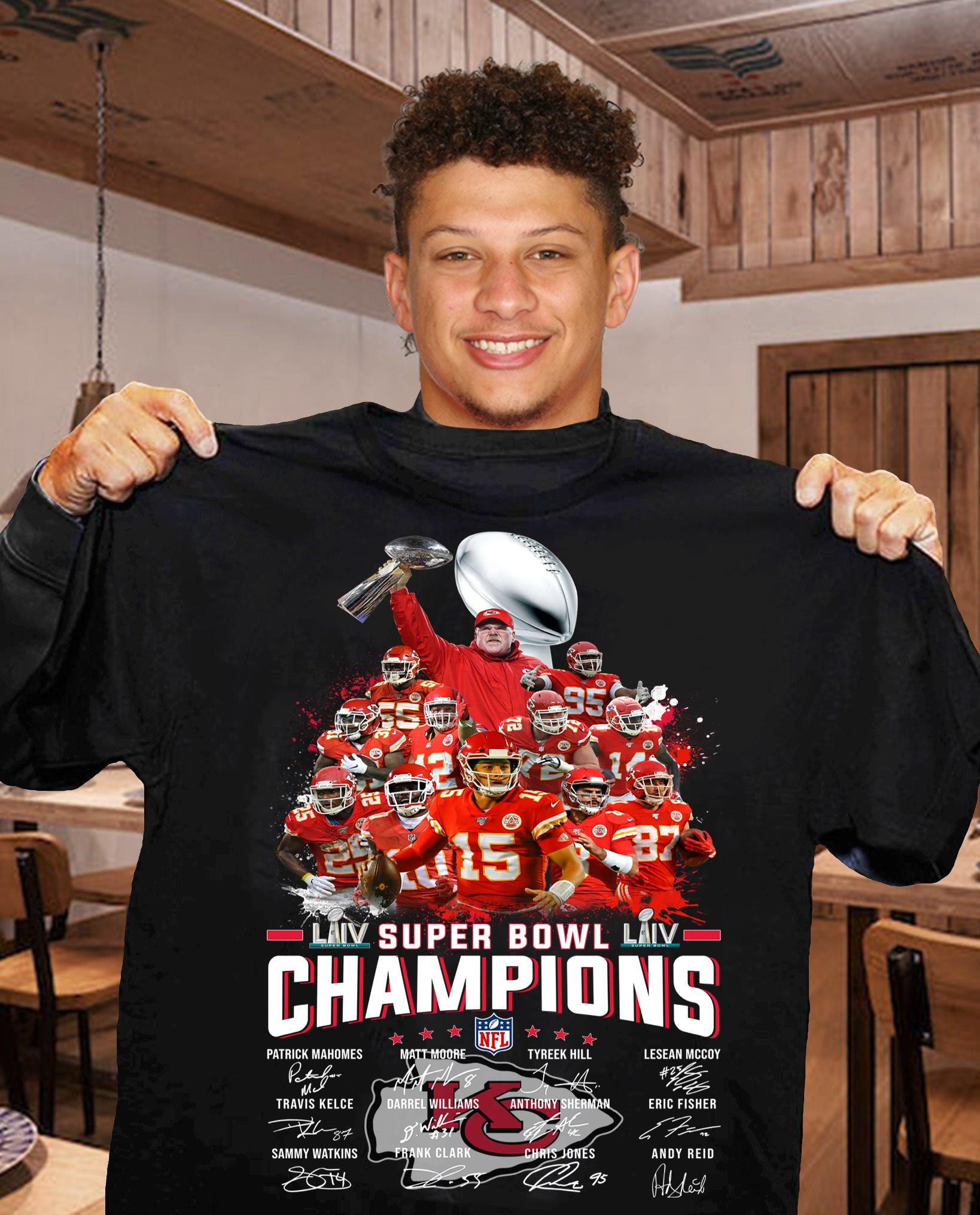 LIV super bowl champions signature shirt